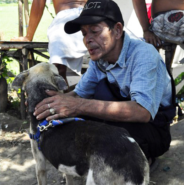 Kabang, Hero Dog Who Lost Her Snout Saving Two Girls, To Be Treated In US Hospital