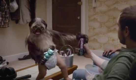 Puppy Monkey Baby Jump Straight Out Of Your Nightmares And Into The Super Bowl Ad For Mountain Dew