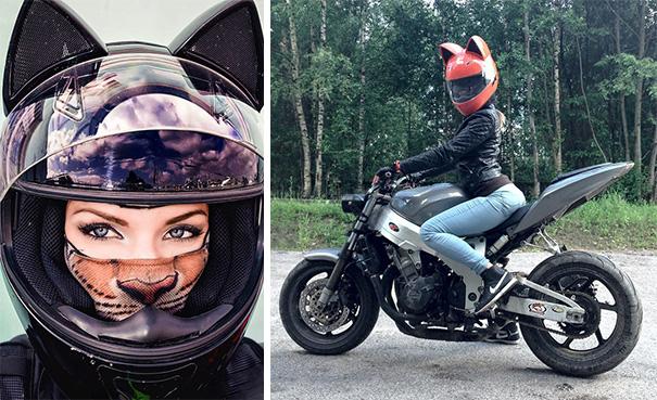 Cat Helmets Will Make You Feel Extra Badass